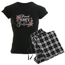 Navy Girlfriend [fl camo] Pajamas