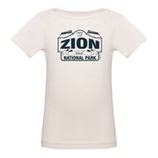 Zion National Park Blue Sign Tee