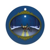 Northern Chihuahua Ornament (Round)