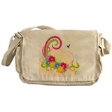 Floral Love Messenger Bag