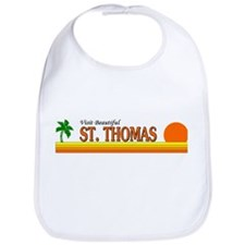 Cute Saint lucia t Bib