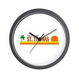 Cute Thomas Wall Clock