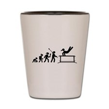 Gymnastic Parallel Bars Shot Glass