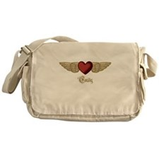 Emily the Angel Messenger Bag