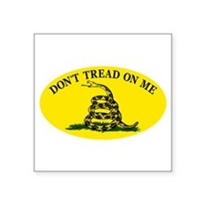 Dont Tread On Me Classic Sticker