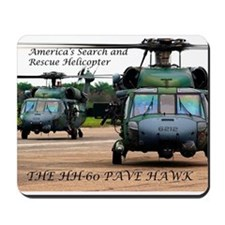 Cool Air force christmas Mousepad