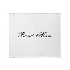 Band Mom - Team Mom Throw Blanket