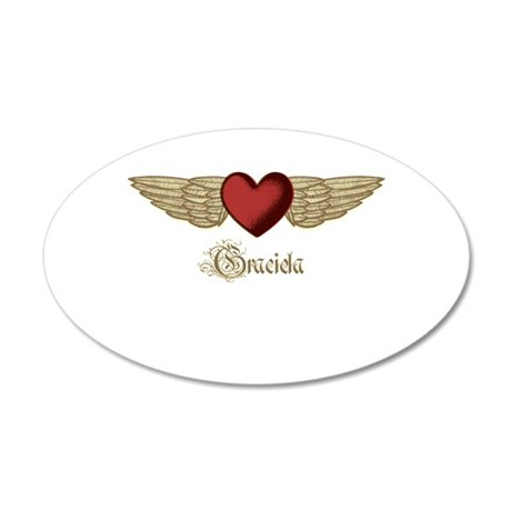 Graciela the Angel Wall Decal