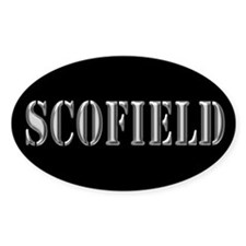 Scofield - Prison Break Oval Decal