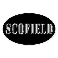 Scofield - Prison Break Oval Decal
