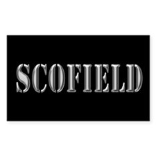 Scofield - Prison Break Rectangle Decal