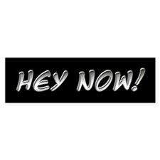 Hey Now - Howard Stern Show Bumper Bumper Sticker