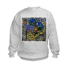 singapore art illustration Sweatshirt
