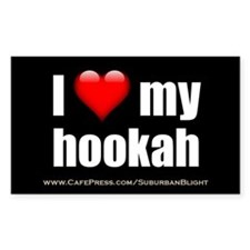 """Love My Hookah"" Decal"