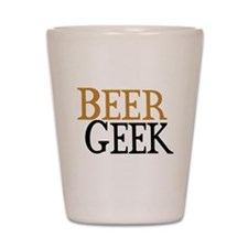 Beer Geek Shot Glass