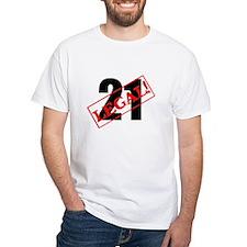 21 Legal White T-shirt