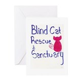 Blind Cat Rescue Greeting Cards (Pk of 10)