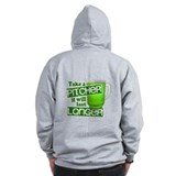 Take A Pitcher it Will Last Longer Zip Hoodie