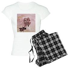 French Pink Poppy Pajamas