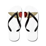 Karla the Angel Flip Flops