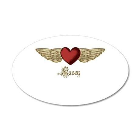 Kasey the Angel Wall Decal