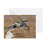HORSESHOE CRAB Greeting Cards (Pk of 10)