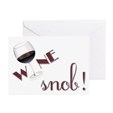 Wine Snob Greeting Cards (Pk of 20)