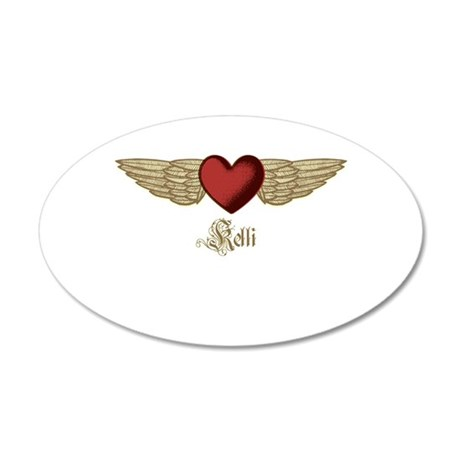 Kelli the Angel Wall Decal