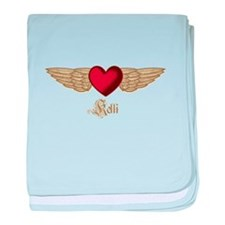 Kelli the Angel baby blanket