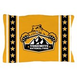 Yosemite Gold Bear Pillow Case