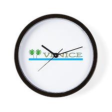 Cute Venice beach Wall Clock