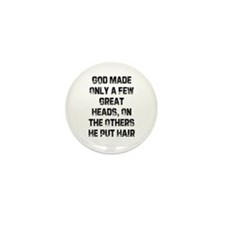 God Made Only a Few Great Hea Mini Button (10 pack