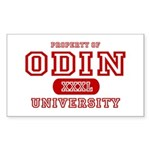 Odin University T-Shirts Rectangle Sticker