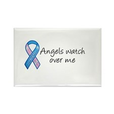 Angels watch over me Rectangle Magnet (10 pack)