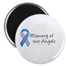 Mommy of Two Angels Magnet