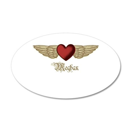 Meghan the Angel Wall Decal