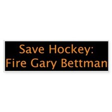 Fire Bettman (Bumper Bumper Sticker) Bumper Bumper Sticker