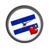 El Salvador 2 Wall Clock