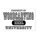 Woodcarving University Postcards (Package of 8)