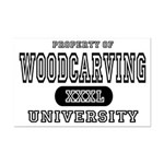 Woodcarving University Mini Poster Print