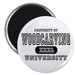 Woodcarving University Magnet