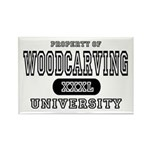 Woodcarving University Rectangle Magnet (10 pack)