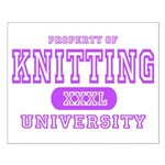 Knitting University Small Poster