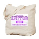 Knitting University Tote Bag