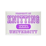 Knitting University Rectangle Magnet (10 pack)