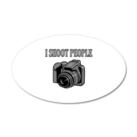 I shoot people - Photography Wall Sticker