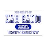 Ham Radio University Mini Poster Print