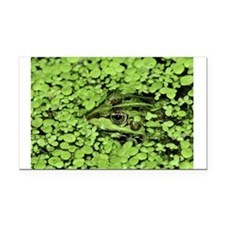 CAMO FROG Rectangle Car Magnet