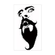 Weirdo With A Beardo Decal