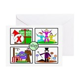 A TASTE OF AUGUST Greeting Cards (Pk of 10)